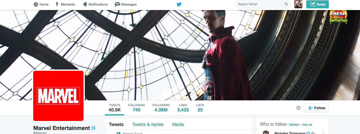 Several Marvel Twitter Pages Fall Victim To Same Group That Hacked Netflix's Account