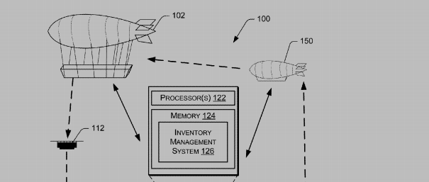 Amazon Patents Flying Warehouse To Stock Delivery Drones In Mid-Air
