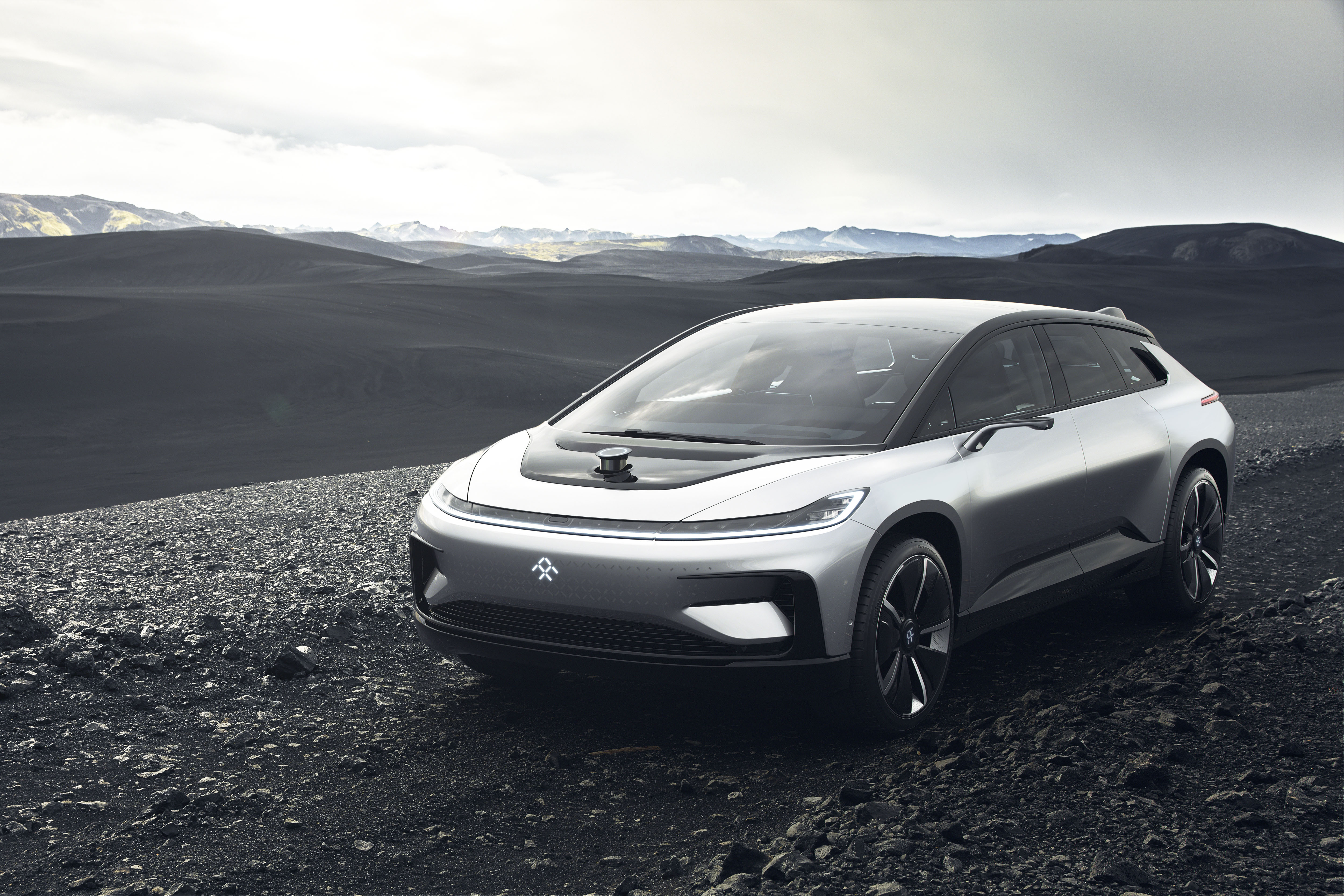 Faraday Future Unveils Latest Electric Vehicle, FF91