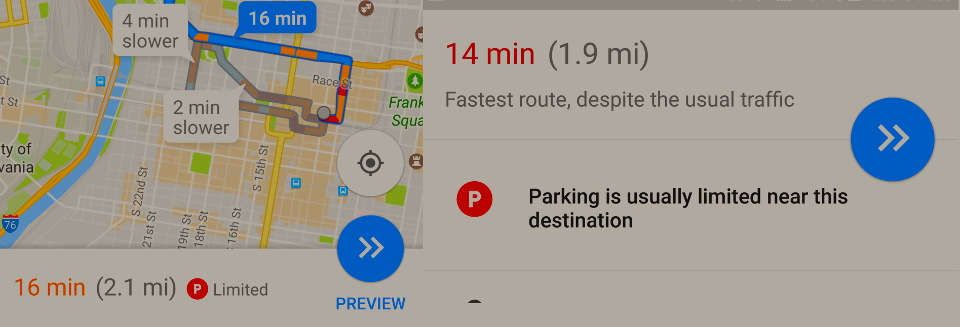 Google Maps Parking Assistant Is Live In 25 Cities