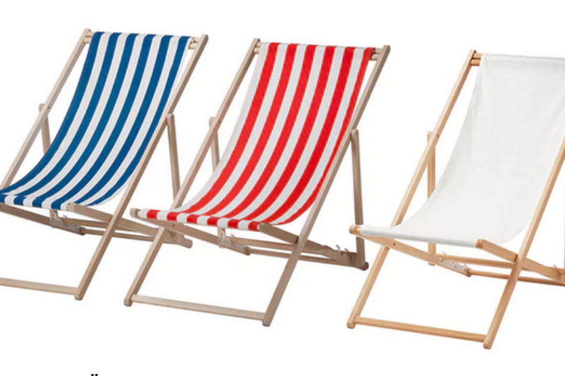 IKEA Recalling Beach Chairs Worldwide Because Lounging Shouldn't Be Dangerous