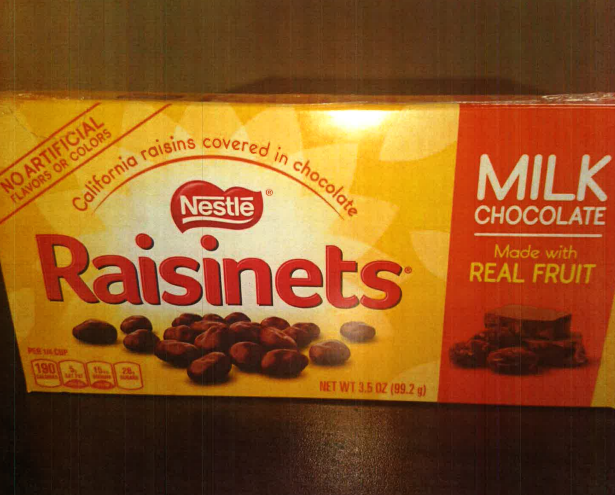 "Are Nestlé's Raisinet Boxes ""Recklessly"" Under-Filled?"