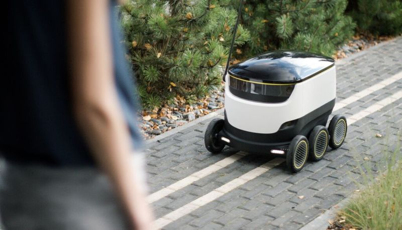 DoorDash, Postmates Deploying Robot Delivery Guys On Both Coasts