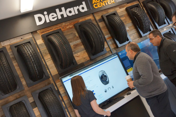 Sears Tries Combining Diehard Brand With Auto Centers