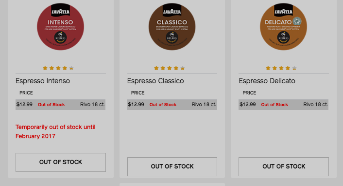 Owners Of Discontinued Keurig Rivo Having Trouble Buying Coffee Pods That Will Work