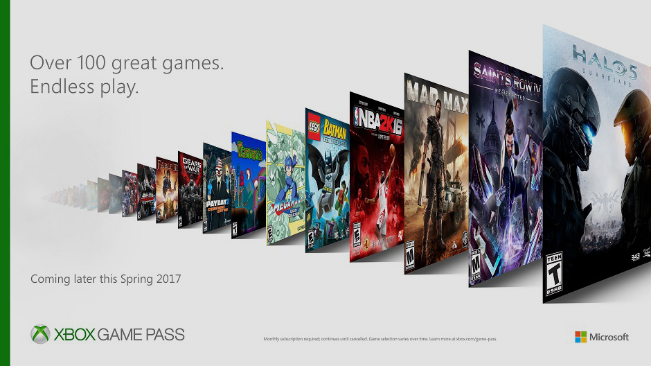 Xbox Launching $10 Monthly Subscription To Library Of 100+ Downloadable Games
