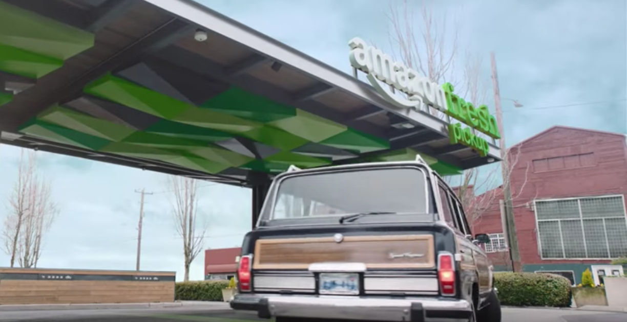 AmazonFresh Pickup Will Deliver Groceries To Your Car