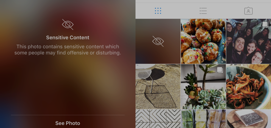 "Instagram Now Protects Precious Eyes By Blurring Out ""Sensitive"" Content"