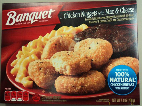 Banquet Chicken Nugget Meals Recalled For Possible Salmonella-Tainted Dessert
