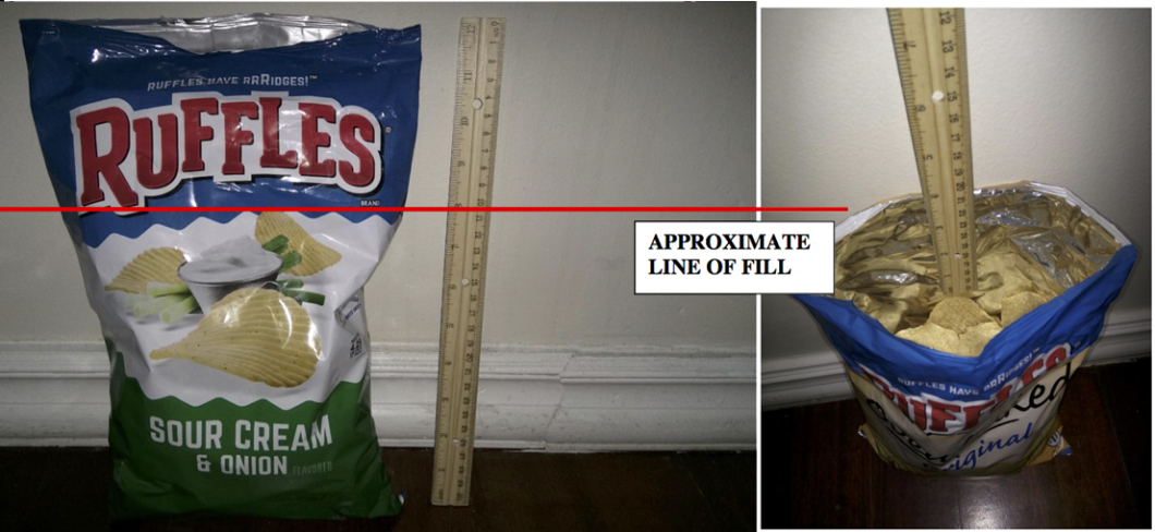 So Called Slack Fill Is The Difference Between Size Of Packaging And Food It Contains S Perfectly Legal Otherwise