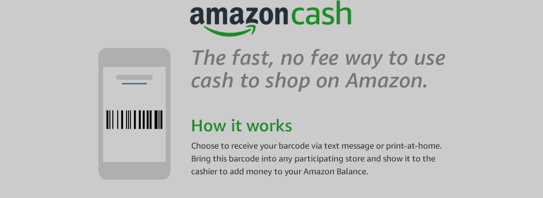 Amazon Debuts 'Amazon Cash' As A Way For The Unbanked To Shop Online