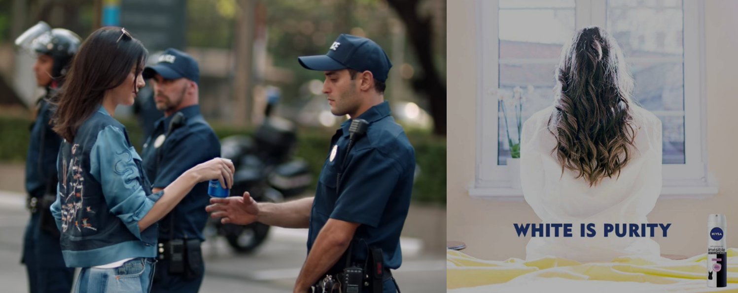 "Today In Badvertising: Pepsi Solves Social Strife With Soda; Nivea Says ""White Is Purity"""