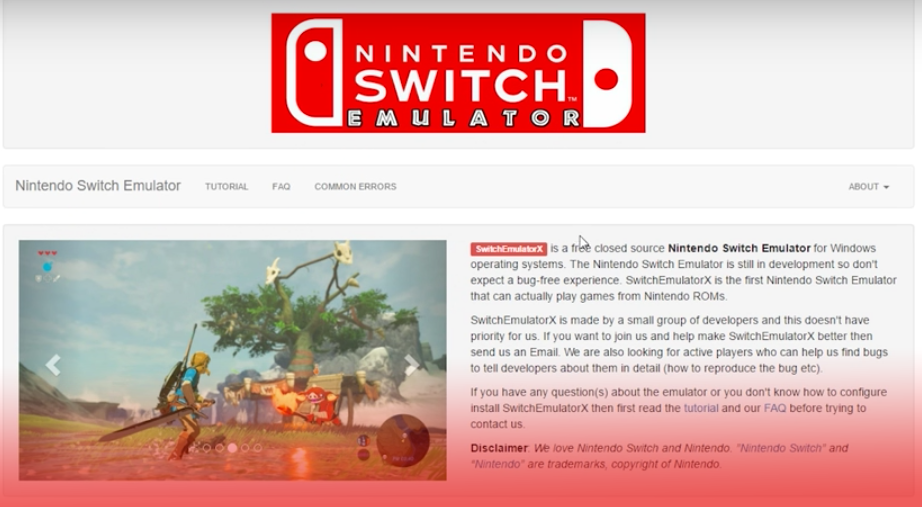 Now The Federal Government Is Warning Against Scammy Nintendo Switch Emulators
