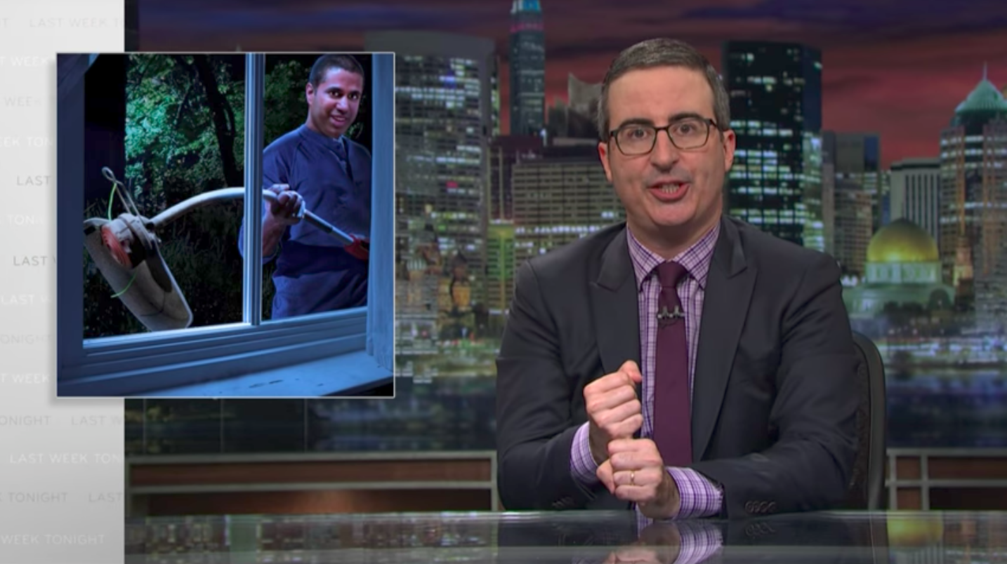 "FCC Blames ""Attacks"" For Comment System Crash Following John Oliver Story"