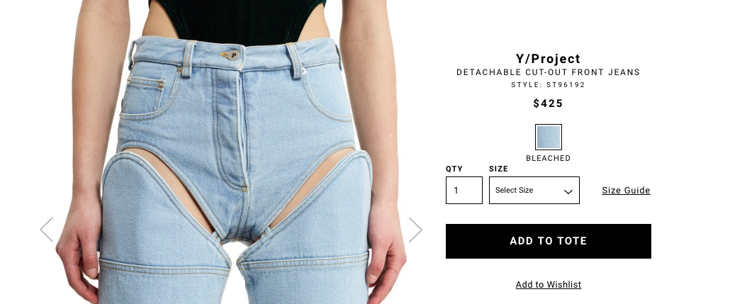 $425 Convertible Jorts Are Proof We Live In The End Times For Denim