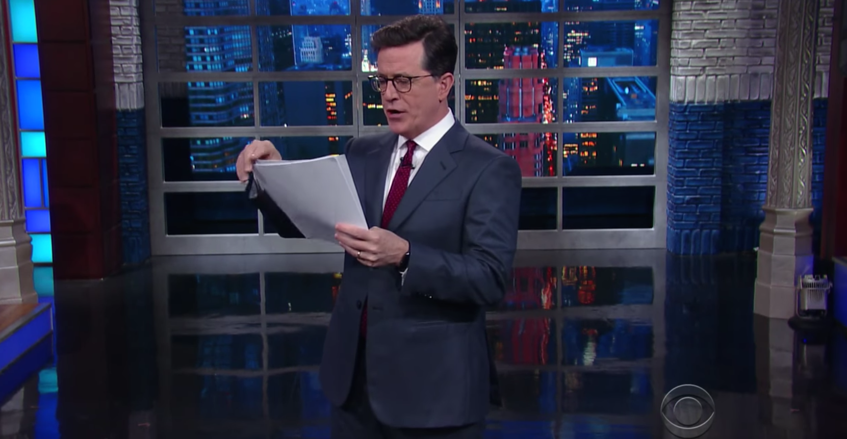 FCC Looking Into Complaints About Stephen Colbert's Anti-Trump Jokes