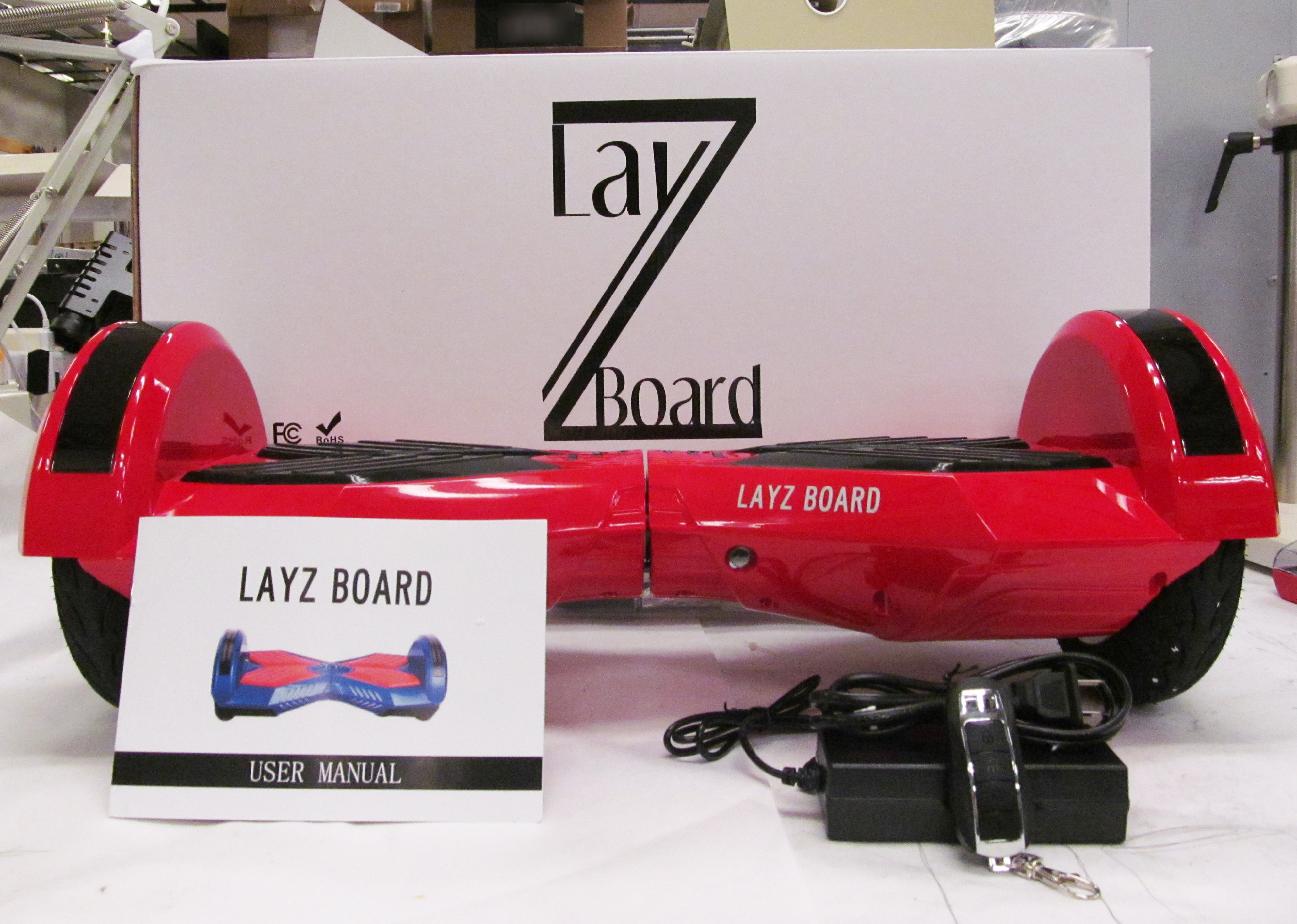 After Deadly Fire, Government Warns Against Using LayZ Board Hoverboards