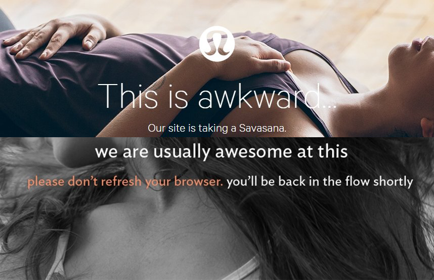 Lululemon Website Loses Its Flow, Experiences Outage Monday And Tuesday