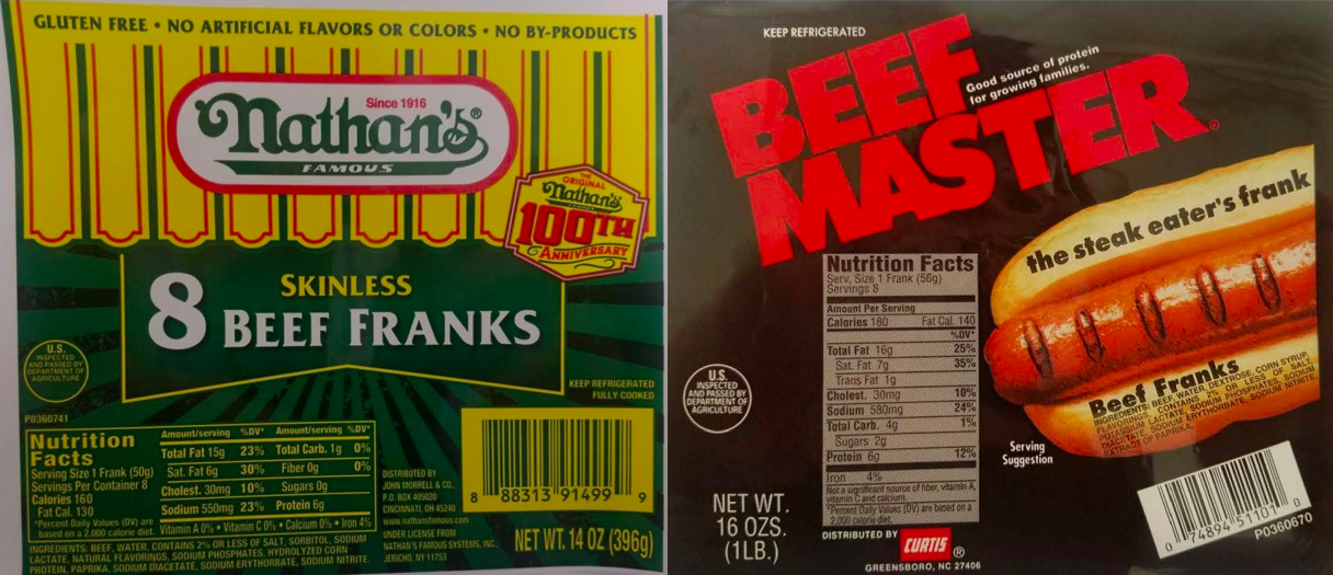 Nathan's Hot Dogs Recalled For Presence Of Metal Chunks