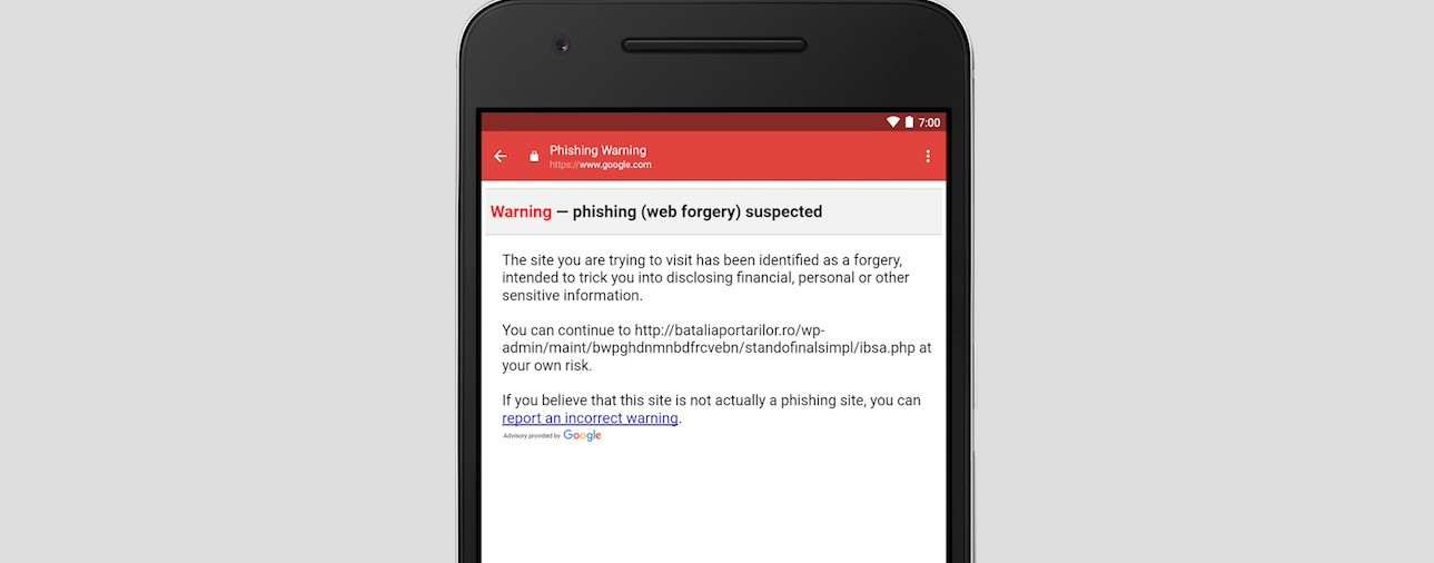 Google Adds Phishing Protection To Android Gmail App
