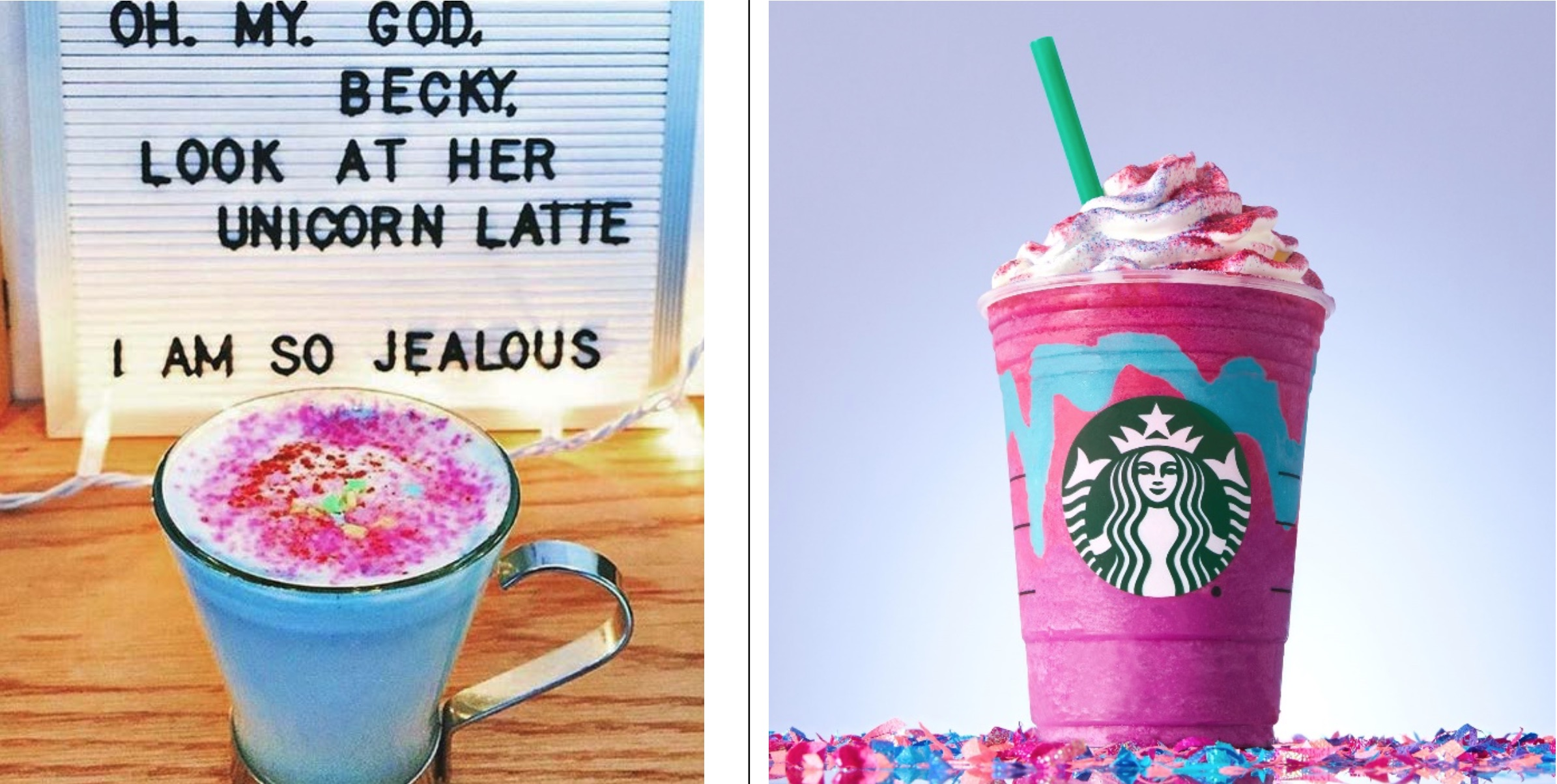 Brooklyn Café Accuses Starbucks Of Copying 'Unicorn' Beverage Name