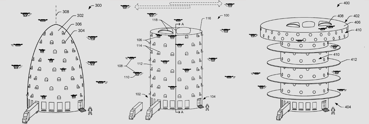 Amazon Patents Ridiculous, Terrifying Towers To House Delivery Drones