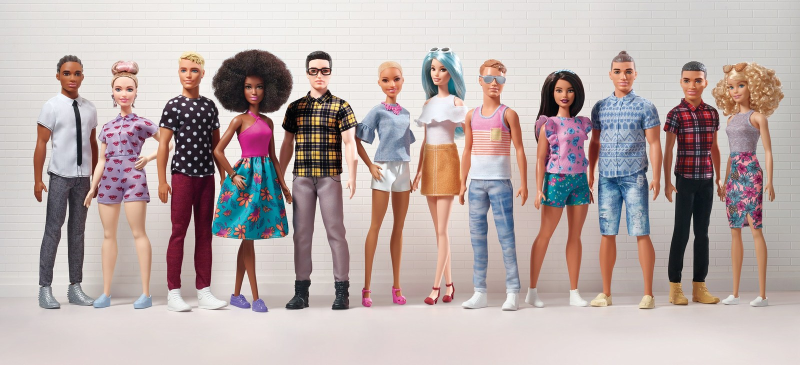 New Barbie Doll Lineup Lets Ken Settle Into His Dad-Bod, Live Out His Man-Bun Fantasy