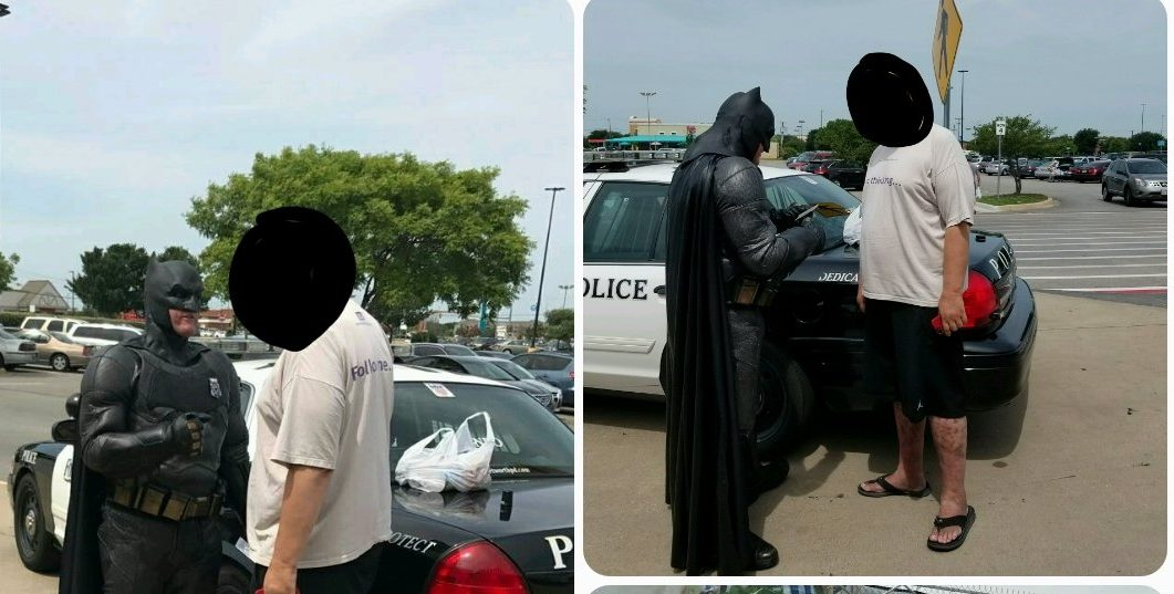 Cop Dressed As Batman Stops Walmart Shoplifter With Copy Of 'The LEGO Batman Movie'