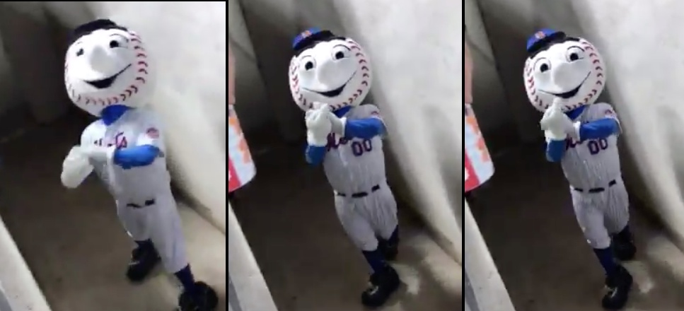 Mr. Met Accused Of Physically Impossible Rude Gesture