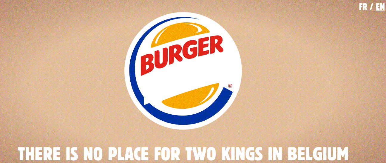Burger King Drops Its Claim To Belgian Throne