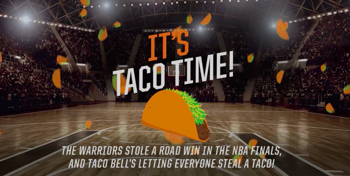 Here's How To Get A Free Doritos Locos Taco From Taco Bell June 13