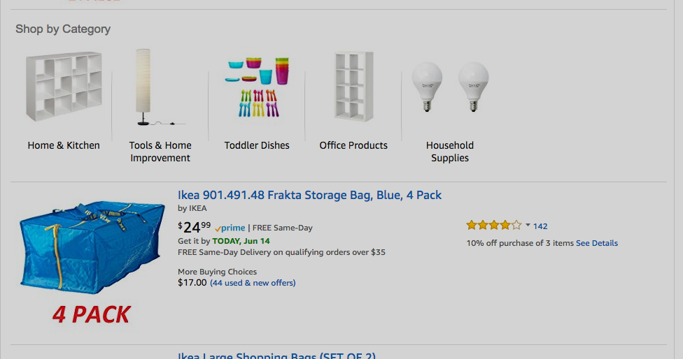 Some IKEA Products Are Now Available On Amazon