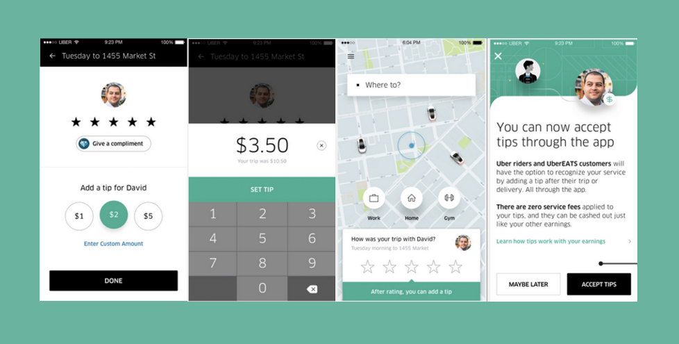 Uber Drivers Have Already Received $50 Million In Tips Through The App