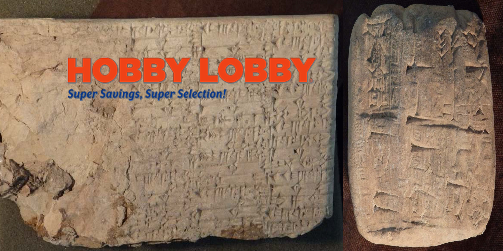 Hobby Lobby Agrees To Turn Over Thousands Of Ancient Iraqi Artifacts That Were Smuggled Into U.S.