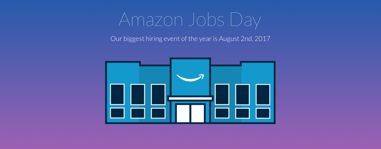 Amazon Holds National Job Fair, Looking For 50,000 Workers