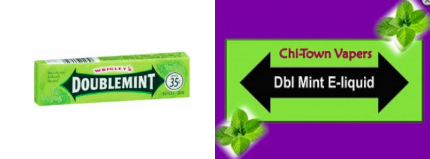 "Wrigley Sues Vape Company Over ""Joosy Fruit,"" ""Dbl Mint"" E-Cigarette"