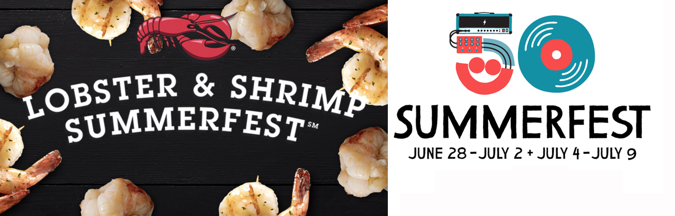 "Red Lobster In Legal Battle With Music Festival Over The Word ""Summerfest"""