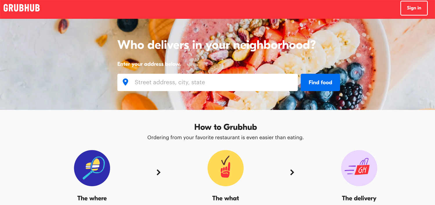 GrubHub Will Buy Eat24 From Yelp For $287.5M, Free Delivery