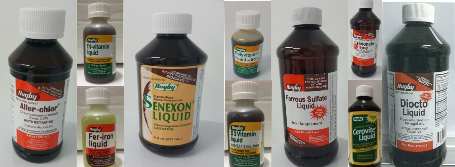 FDA Warns: Don't Use These Potentially Contaminated Liquid Supplements And Medications