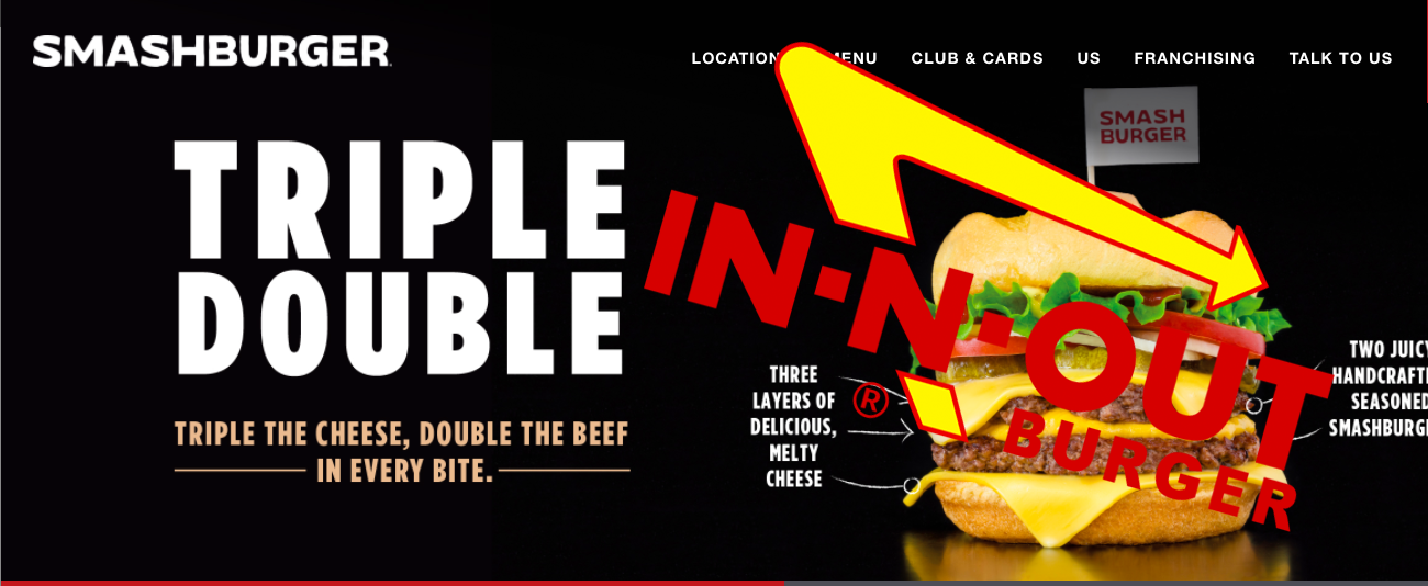 In-N-Out Goes To War With Smashburger Over 'Triple Double' Cheeseburgers