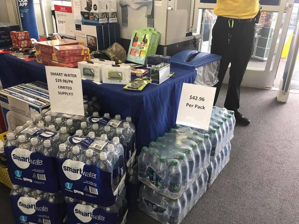 Best Buy Claims $43 Cases Of Water Were Mistake, Not Post-Hurricane Price-Gouging