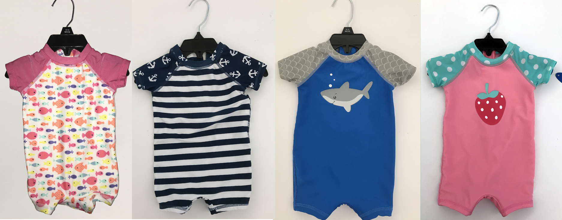 Swimsuits For Babies And Toddlers Sold At Meijer Recalled For Detaching Snaps