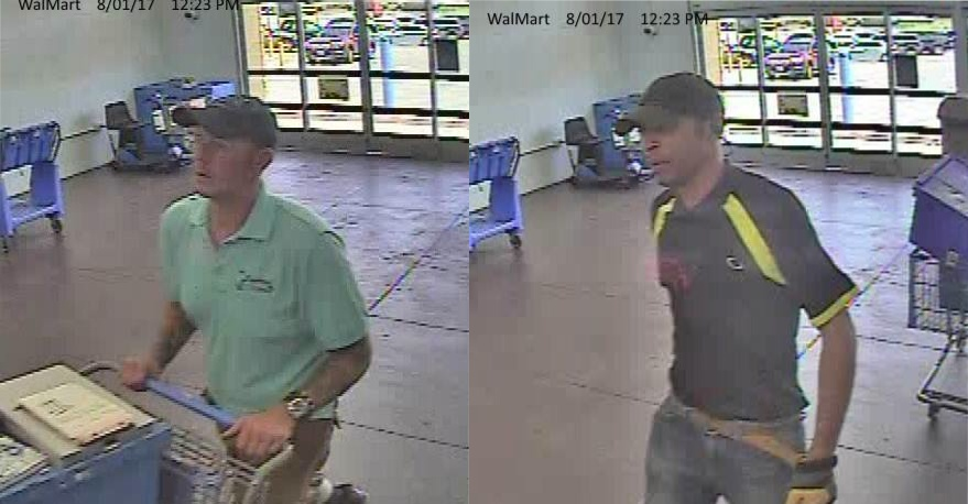 Two Men Simply Walk Out Of Walmart After Scooping Up 5 TVs