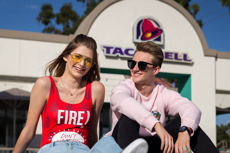 New Clothing Line From Taco Bell and Forever21 Is Reason To Just Give Up