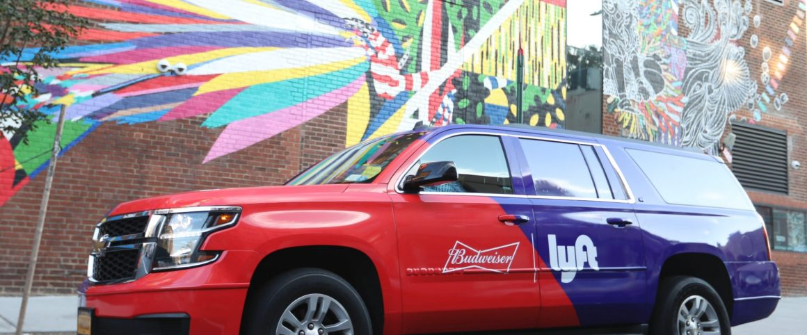 Lyft, Budweiser Partnering Up Again To Fight Drunk Driving With Free Rides