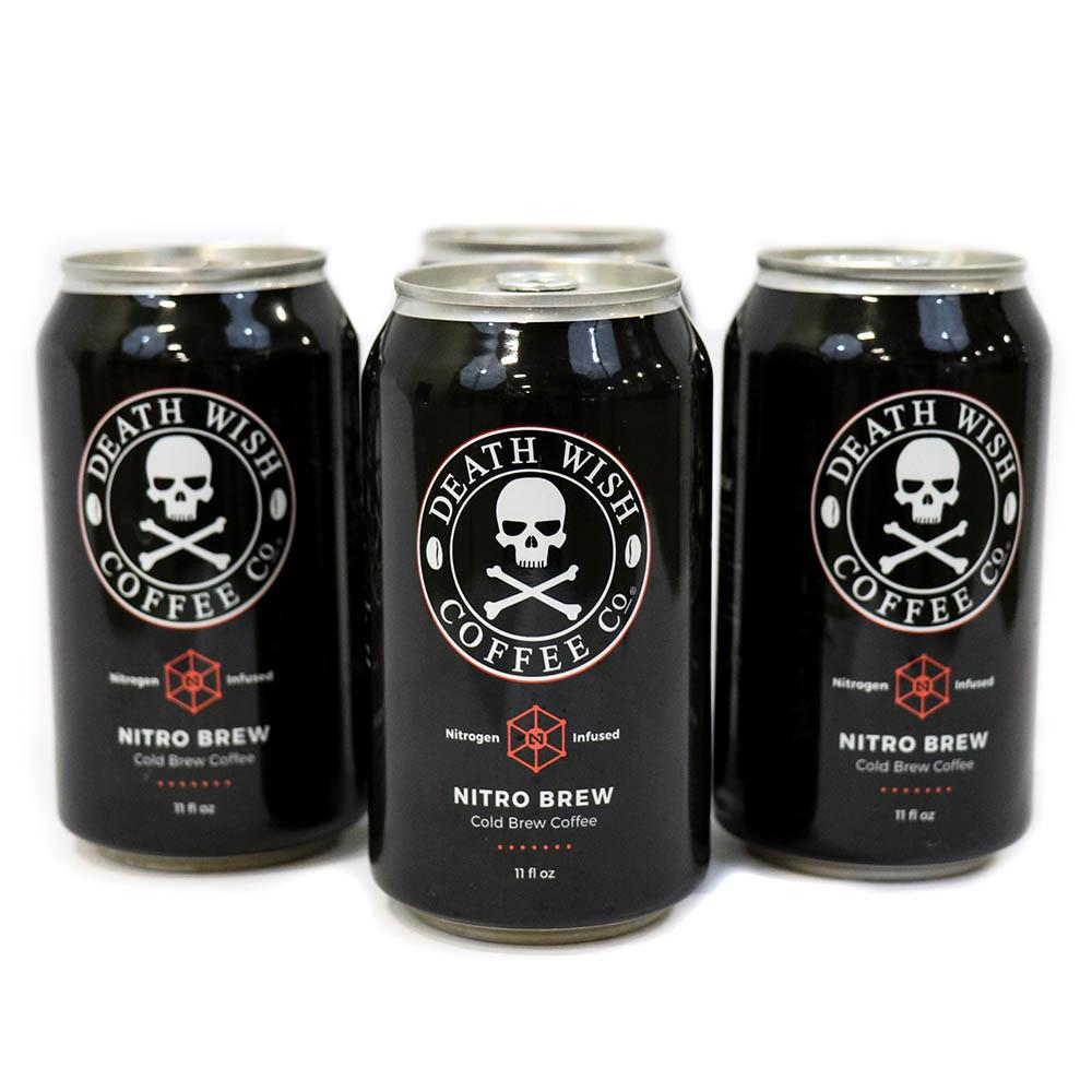 Death Wish Nitro Cold Brew Coffee Recalled Over Botulism Risk