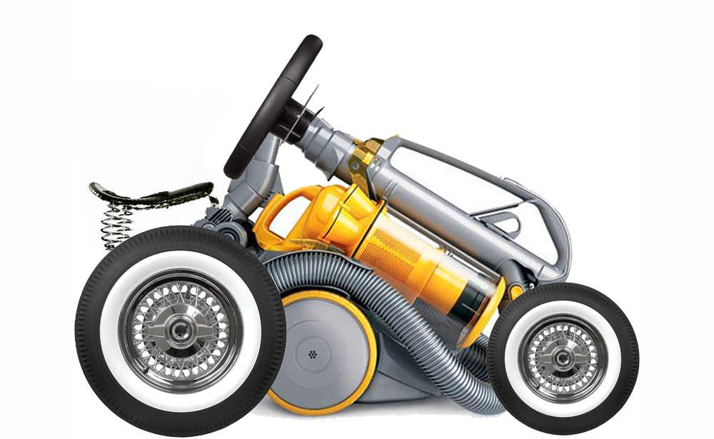 Dyson Working On Electric Car, Unclear If It Will Double As Street Sweeper