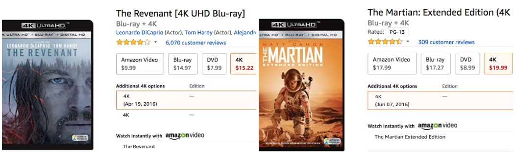 Amazon Slashes Prices Of 4K Content After Launch Of Apple TV