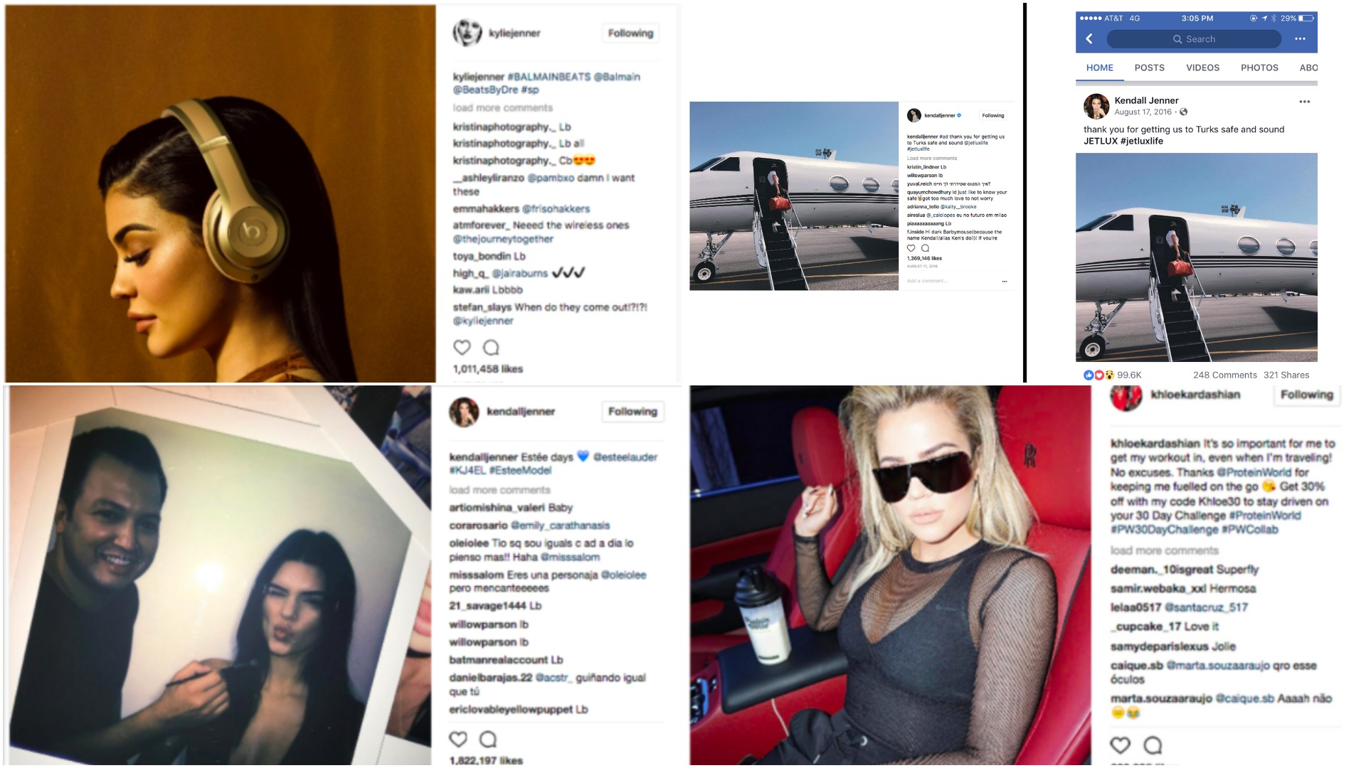 Kardashians & Jenners Continue Posting Stealth Ads, Despite Warnings