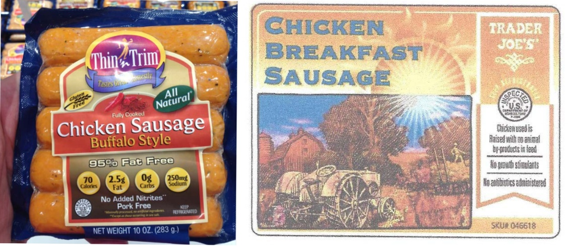 Over 17 Tons Of Chicken Sausage Recalled For Undeclared Allergens
